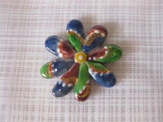 花の箸置きの画像
