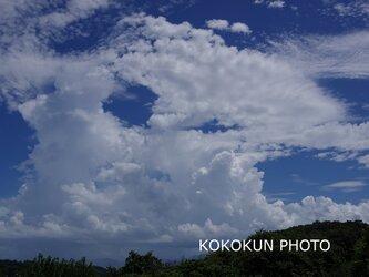 雲のある風景4「ポストカード5枚セット」の画像