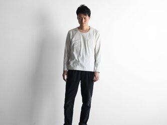 HUIS×yohakuギザコットン長袖カットソー(ベージュ)size3【ユニセックス】の画像