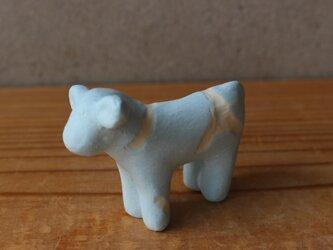 陶 オブジェ 空シリーズ  干支 牛 ウシの画像