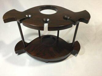 ワインラック…テーブル用の画像