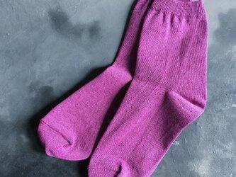 和紙靴下 REGULAR 葡萄 (PURPLE)の画像