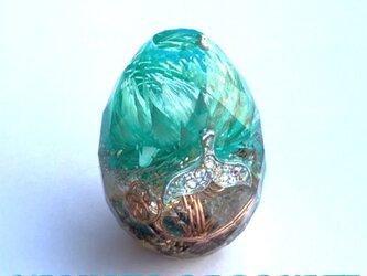 希少オリハルコン入り 強運ホエールテール カット卵型 浄化 安眠 幸運体質 幸運メモリーオイル ケオン オルゴの画像