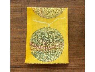 手ぬぐい[メロン]黄の画像