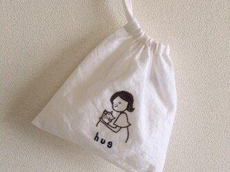 おさんぽ巾着ミニ hug③の画像