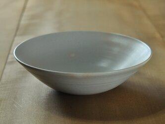 8寸鉢/白の画像