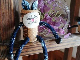 コルク人形 ねこちゃんシリーズの画像