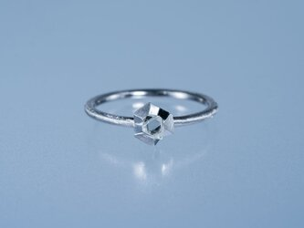 【ストック】Gazzara ダイヤモンド原石リング / Pt950の画像