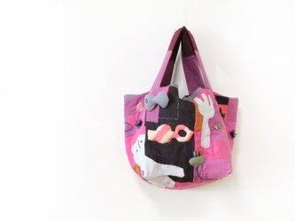 キュービックトート「Gochisō-pink」の画像