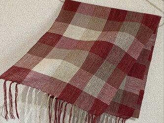 手織りストール A51の画像