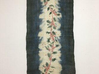 ヒイラギの花タペストリーの画像
