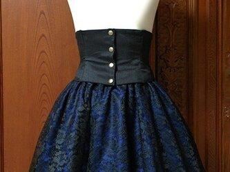 ローズスカート(ブルー)の画像