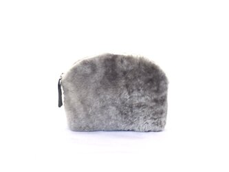 【New】mouton shell pouch/grayの画像