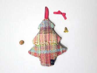 手織り ミニツリー飾りキットの画像
