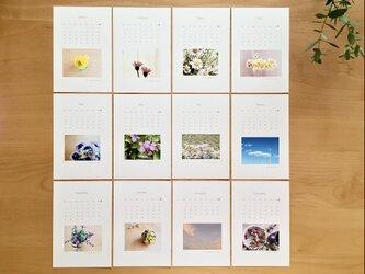 《送料無料》  2021年 カレンダー ポストカードサイズの画像
