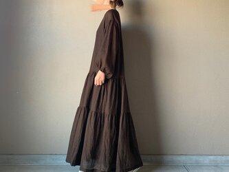 【受注製作】リネンウールティアードドレスの画像