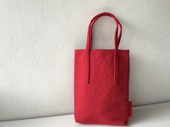 miniバッグ/レッドの画像