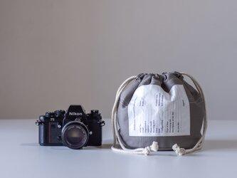 NEW Personalカメラバック(グレー )[受注生産]の画像