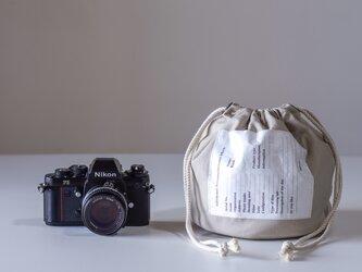 NEW Personalカメラバック(オフホワイト )[受注生産]の画像