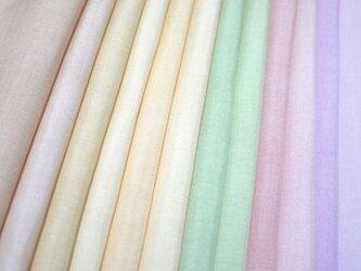 (A)正絹 胴裏 手染め12枚 はぎれセット マットタイプ つるし飾りや手芸にの画像