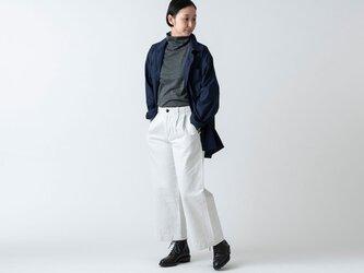 木間服装製作 / shirt navy / unisex 2sizeの画像