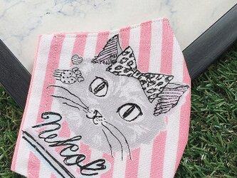 立体マスク キッズ オトナ 猫 ねこ キャットの画像
