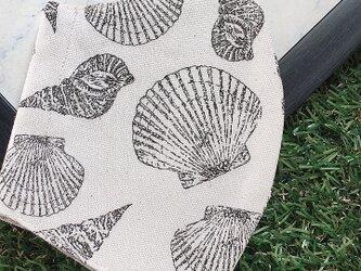 立体マスク キッズ オトナ 貝殻 シェルの画像