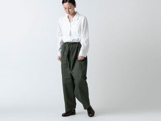 木間服装製作 / pants cotton kahki / unisex 1sizeの画像