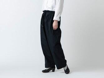 木間服装製作 / pants black / unisex 1sizeの画像