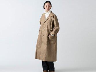 【再入荷】木間服装製作 / coat タイプライター ベージュ / unisex 1sizeの画像