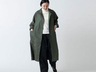 木間服装製作 / coat タイプライター カーキ / unisex 1sizeの画像