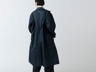 【再入荷】木間服装製作 / coat タイプライター ネイビー / unisex 1sizeの画像