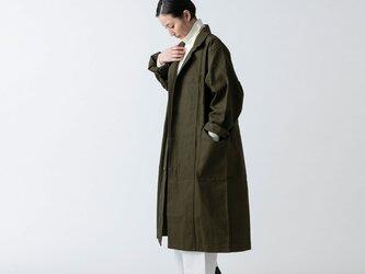 【再入荷】木間服装製作 / coat 帆布 カーキ / unisex 1sizeの画像