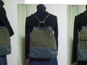 2wayカジュアルバッグ 国産ウールの画像