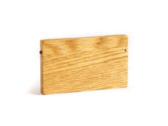 磁石式名刺ケース(カードケース/ナラ)の画像