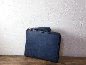 タッセルミニ財布Mサイズ ヴィヴィドブルーの画像