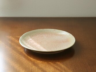 藁灰釉のお皿 * 3 * 約27cmの画像