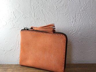 タッセルミニ財布M アラスカオレンジの画像
