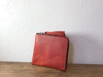 タッセルミニ財布S アマゾニアレッドの画像