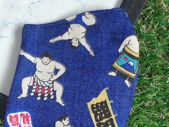 立体マスク キッズ オトナ お相撲さんの画像