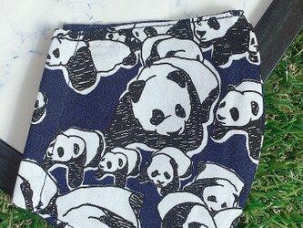 立体マスク キッズ オトナ ぱんだ パンダの画像