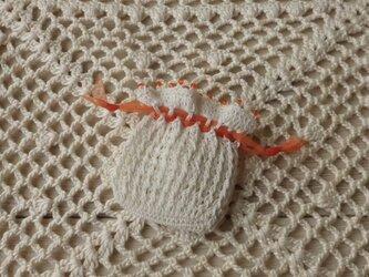 プチ巾着・蜜 柑の画像