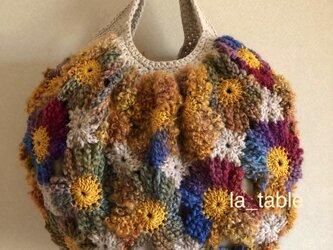 花たくさんのバッグ「SUNNY」の画像