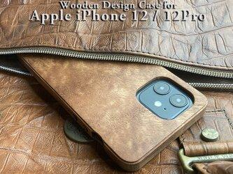 【受注生産】実績と安心サポート iPhone 12 / 12pro  専用木製ケースの画像