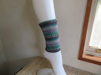 足首を温めるレッグウォーマーの画像