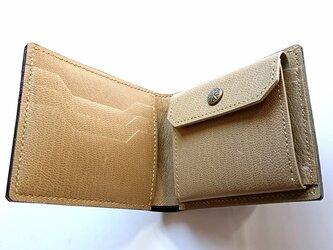 二つ折り財布 コインポケット付き #72の画像