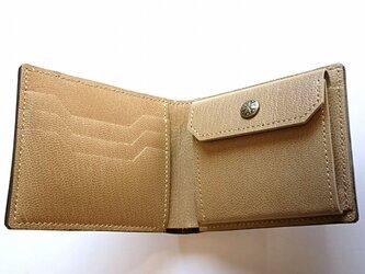 二つ折り財布 コインポケット付き #73の画像