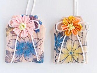 (コスモス)元巫女が作る花のお守り袋の画像