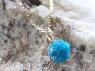 Rough Rock Cavanscite Necklace カバンサイトの原石ネックレス w/K10YGの画像