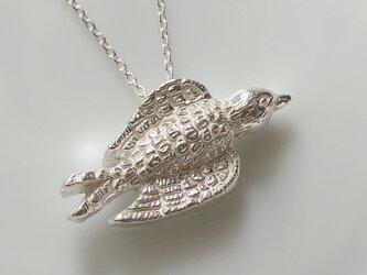 鳥のネックレス/silverの画像